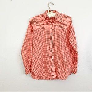 WRANGLER True Vintage Western Pearl Snap Shirt